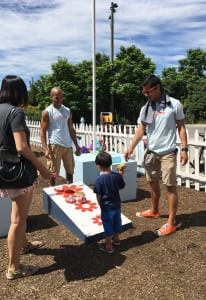 Target Pop-up Playground_cornhole