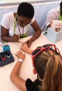 Target Pop-up Playground_nail art