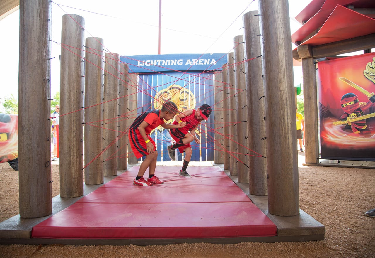 LEGO Inspires Fans with its Ninjago Mobile Challenge Course
