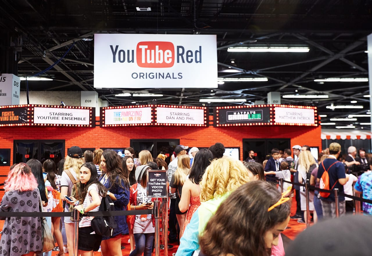 Fans Step Inside Shareable YouTube Red Originals Vignettes at VidCon