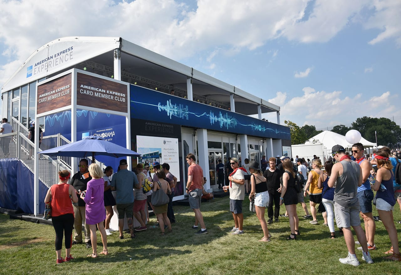 American Express Activates the AMEX Experience at the Inaugural Panorama Festival