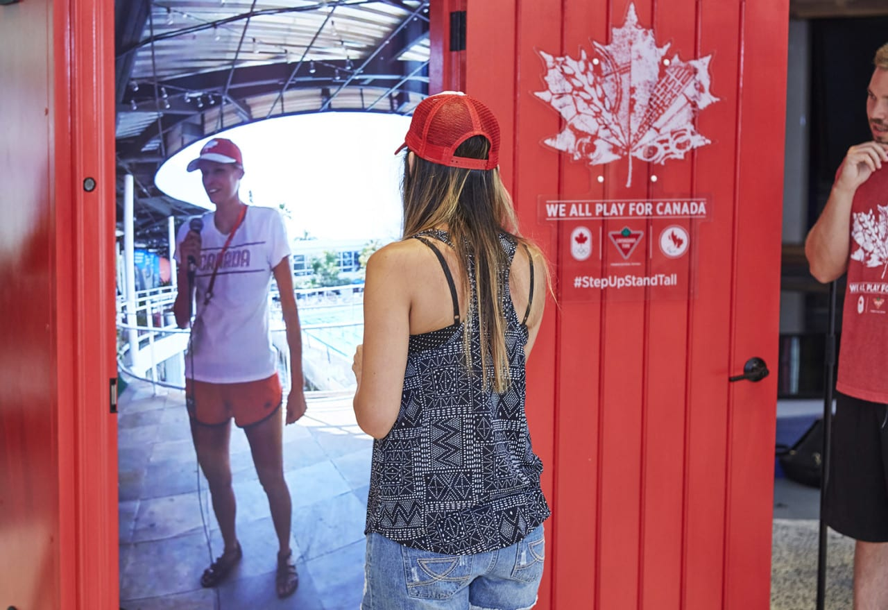 Canadian Tire's Live-Streamed Red Door to Rio Experience Connects Olympic Athletes with Fans