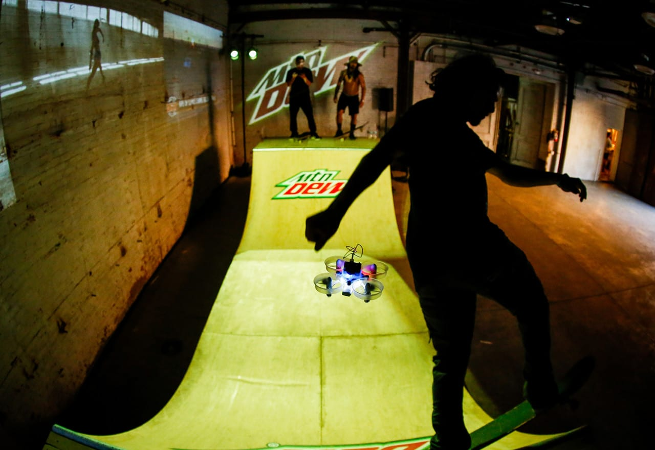Mountain Dew Elevates the Drone Racing Space with Day of Drones
