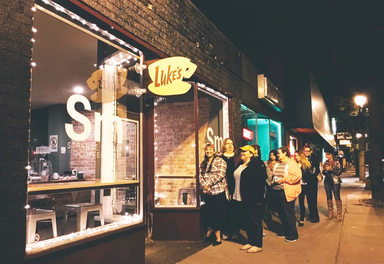 Netflix Recruits 200 Coffee Shops for a 'Gilmore Girls' Pop-up Program