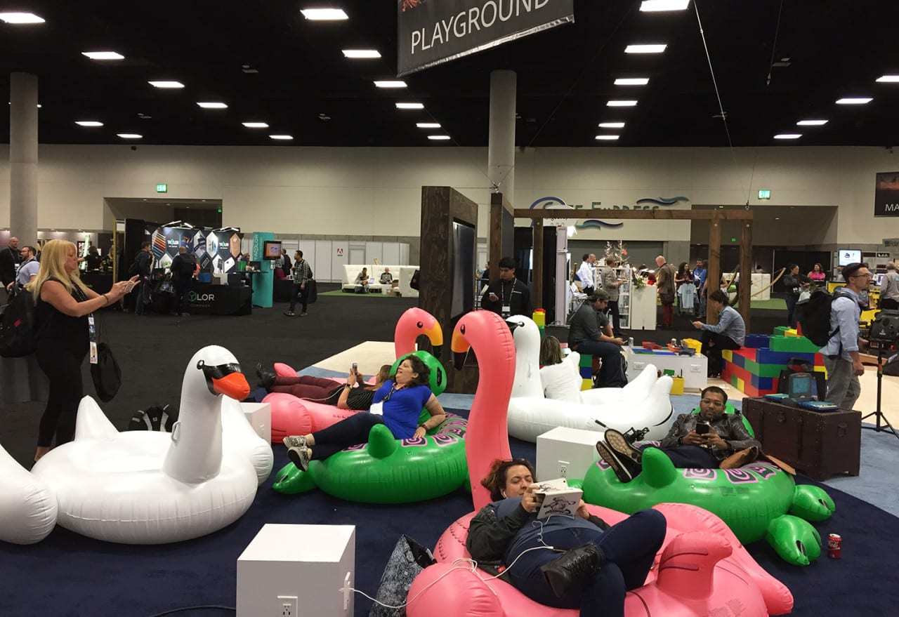 Photo Gallery: The Community Pavilion at Adobe MAX 2016