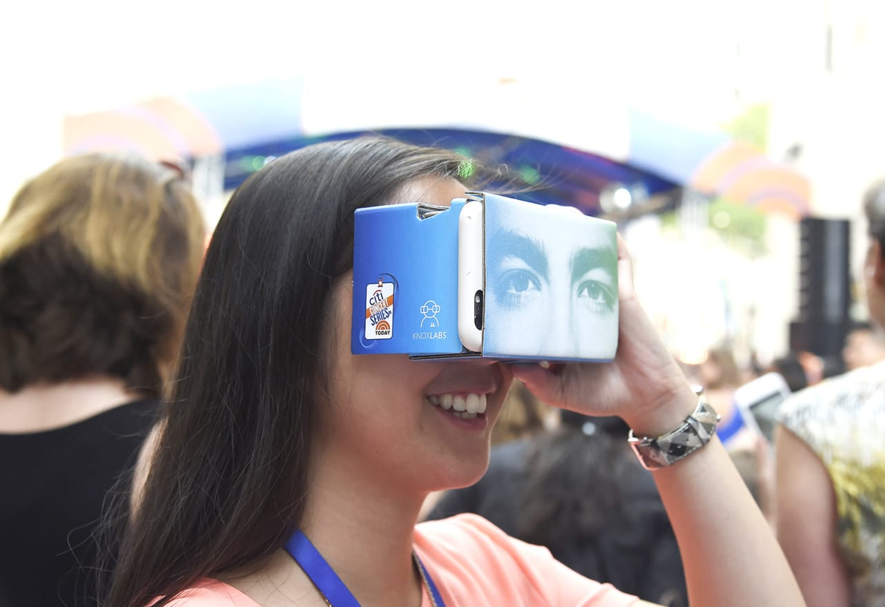 Citi Uses Google Cardboard to Put Fans in Front Row Seats