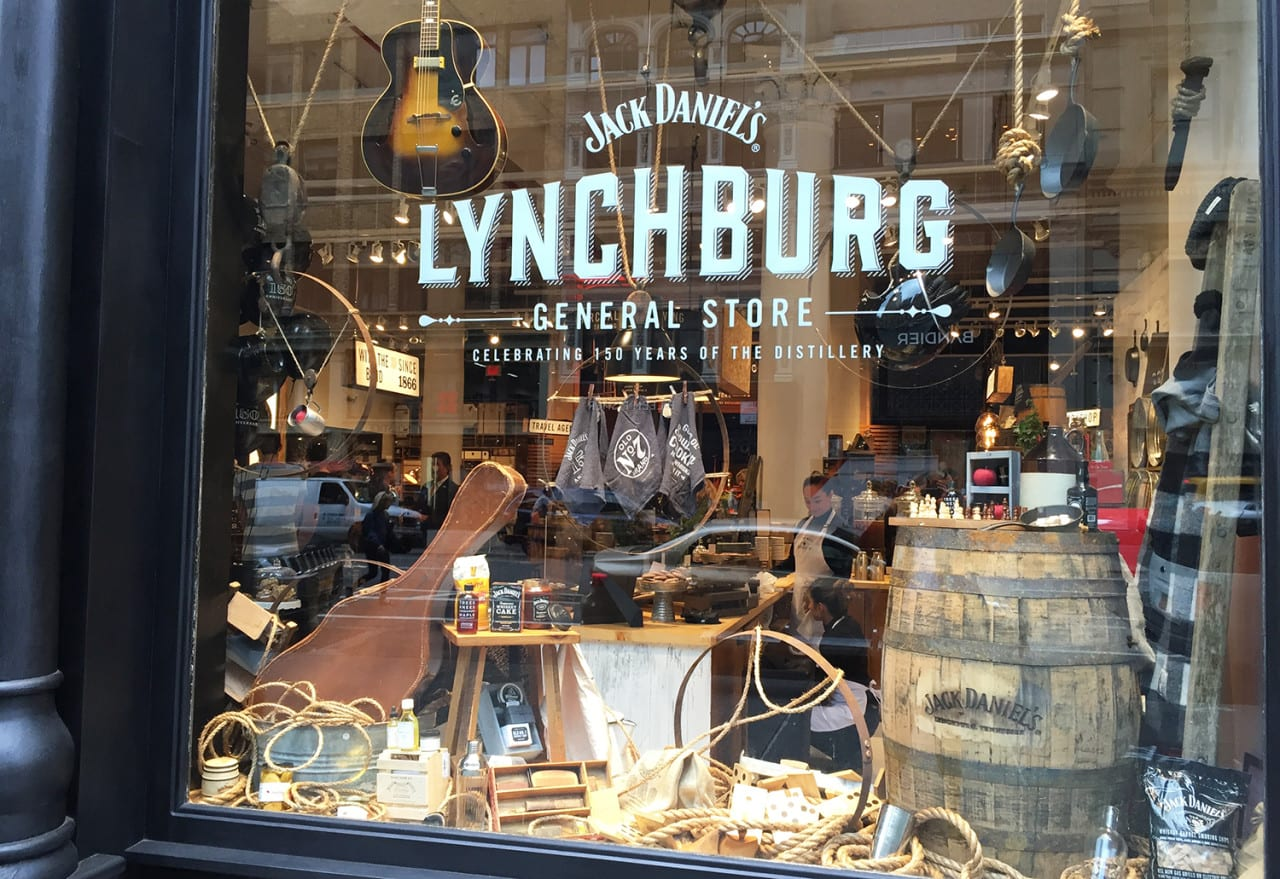 Jack Daniel's Lynchburg General Store Pops up in Manhattan