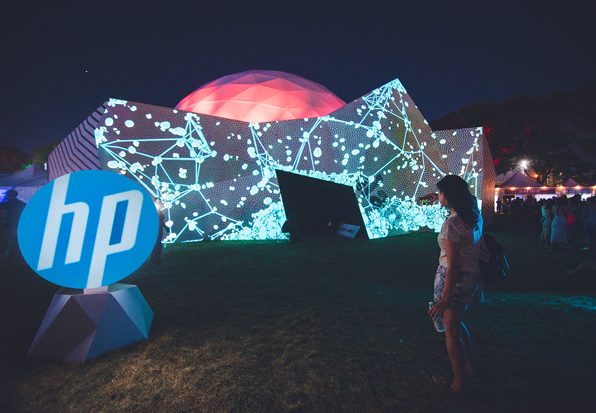 How HP Turned Product Demos into Participatory Journeys at Panorama Festival