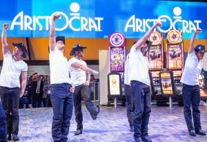Aristocrat_G2E 2016_TimMcGraw_dancers