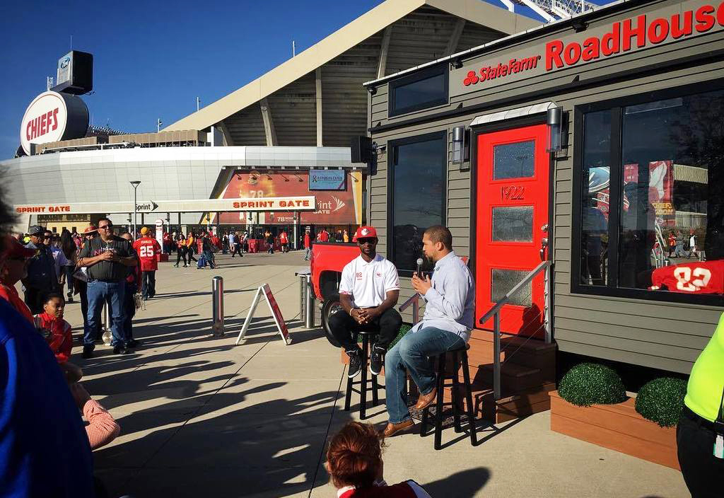 Tailgating: State Farm Drives NFL Game Days from a Tiny House