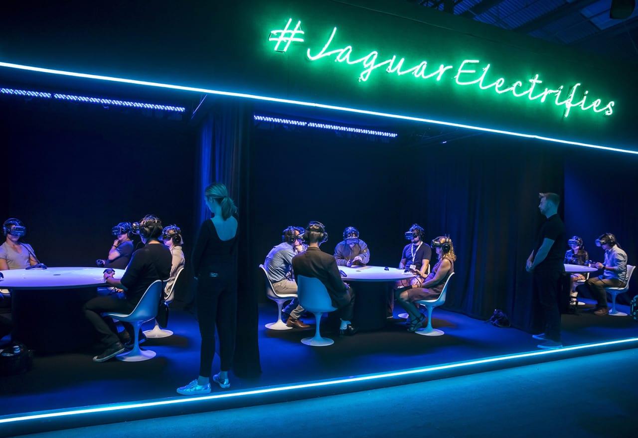 Multi-user VR Drives Engagement for Jaguar's I-PACE Vehicle