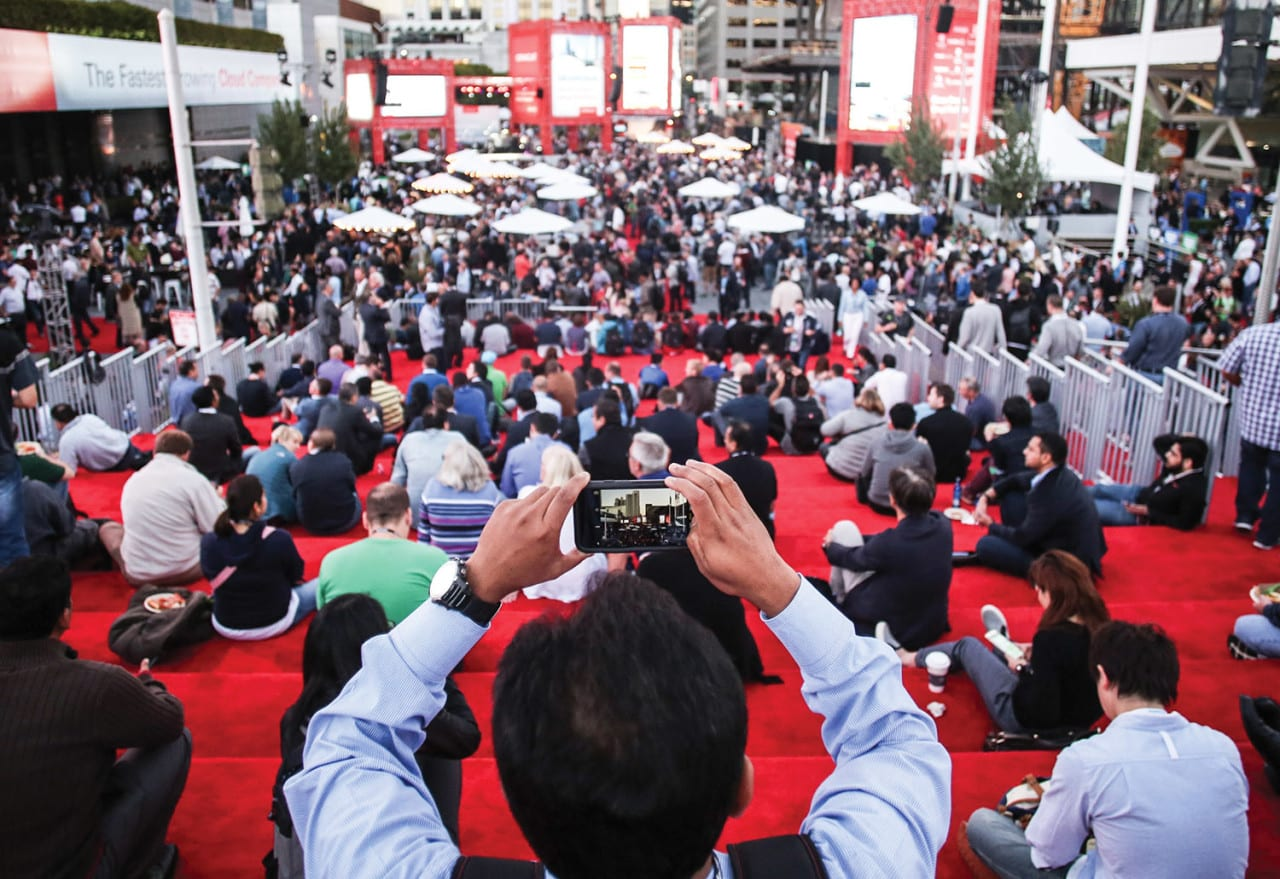 Why Oracle's Quest to Transform OpenWorld May Transform All B-to-B Events
