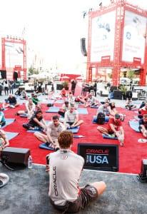 Oracle Openworld_yoga