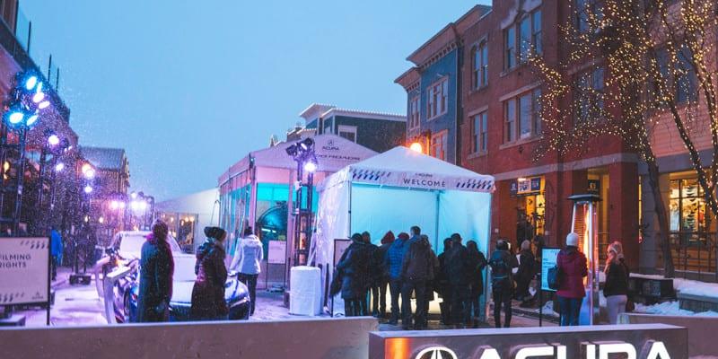 Acura Uses Biometrics in 'Mood Roads' Activation at Sundance
