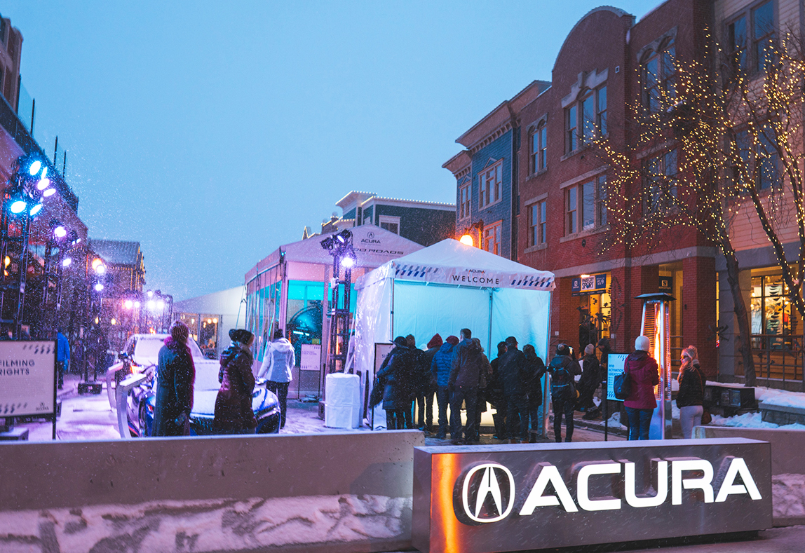 Acura Uses Biometrics in 'Mood Roads' Activation at Sundance