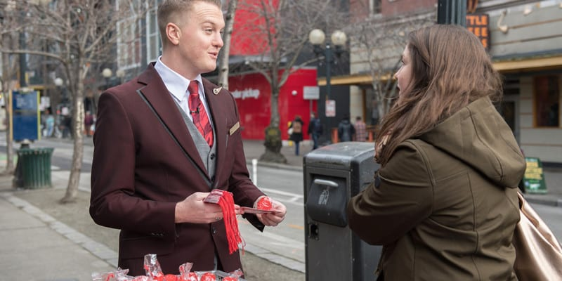 Virgin Atlantic Makes it 'Reign' on the Streets of Seattle