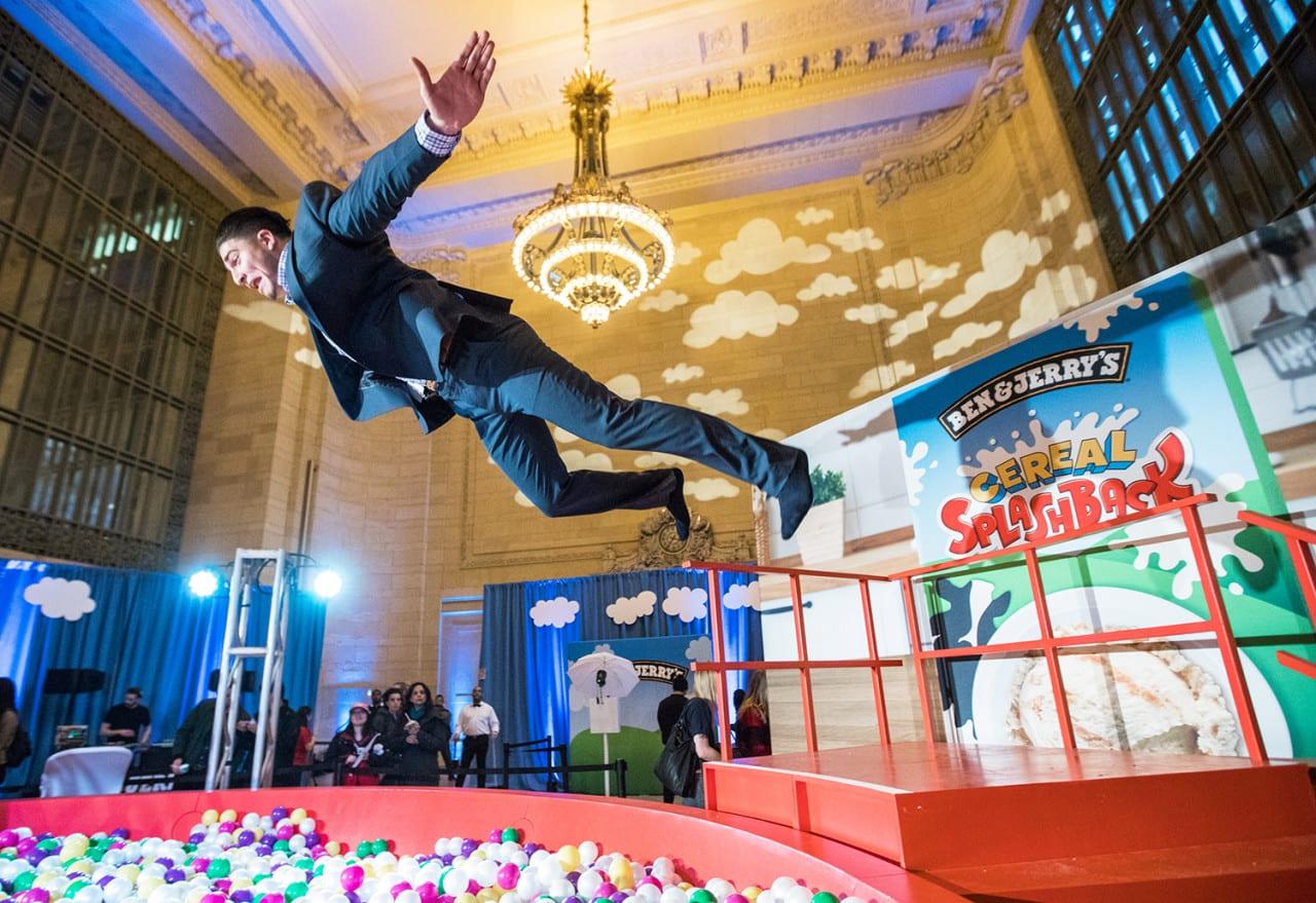 Ben & Jerry's Stunt Makes a Splash in New York City
