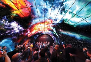 CES 2017_LG_Tunnel