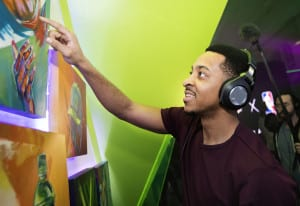 Photo Tour: Mountain Dew's Courtside HQ Activation at NBA All-Star Weekend