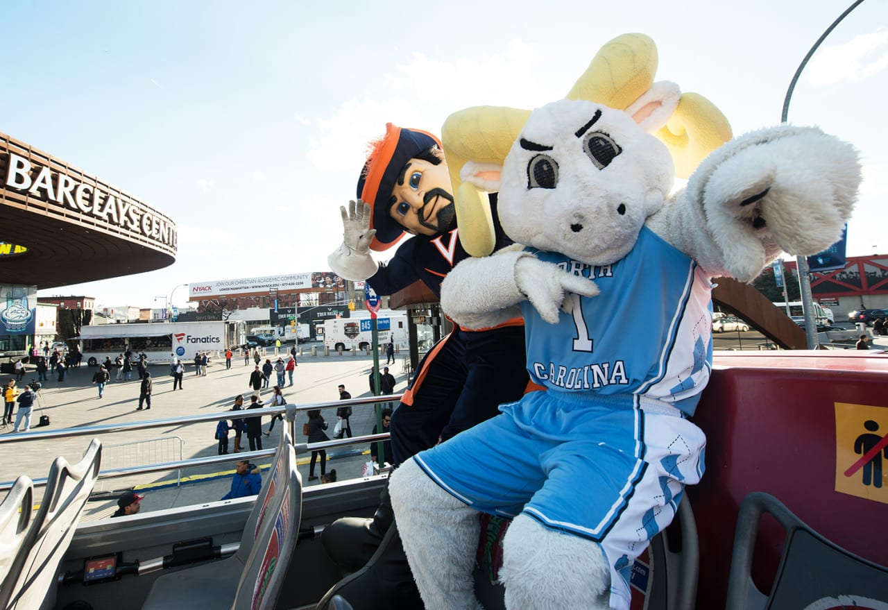 The ACC Unleashes 15 Mascots in New York City to Boost March Madness Visibility