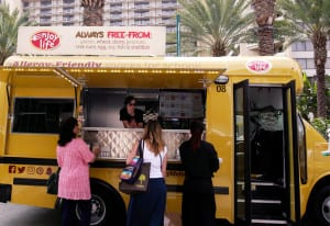 School Bus Food Truck Sampling Drives Home Enjoy Life Foods' Allergy-Free Messaging
