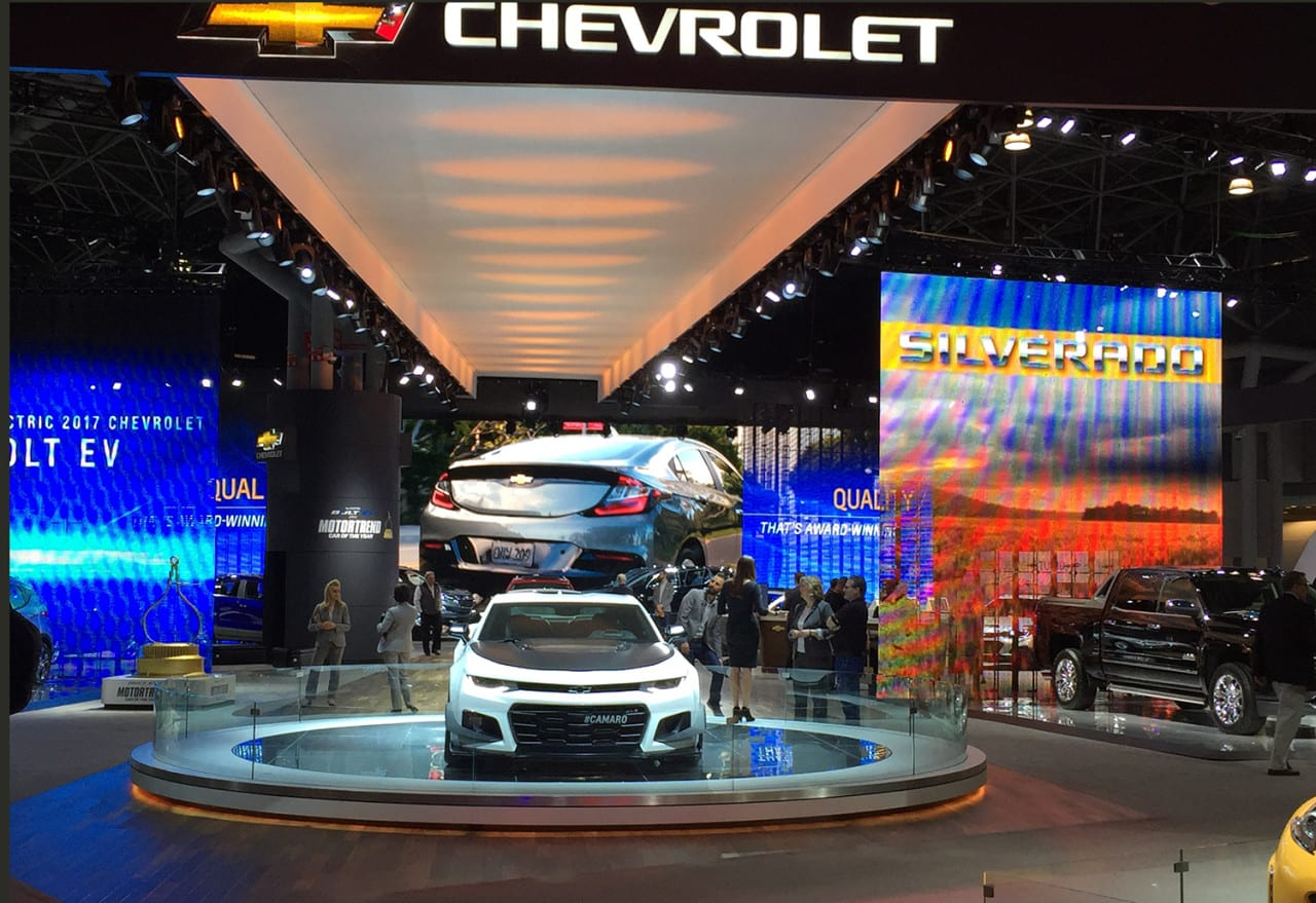Photo Tour: Scenes from the New York International Auto Show