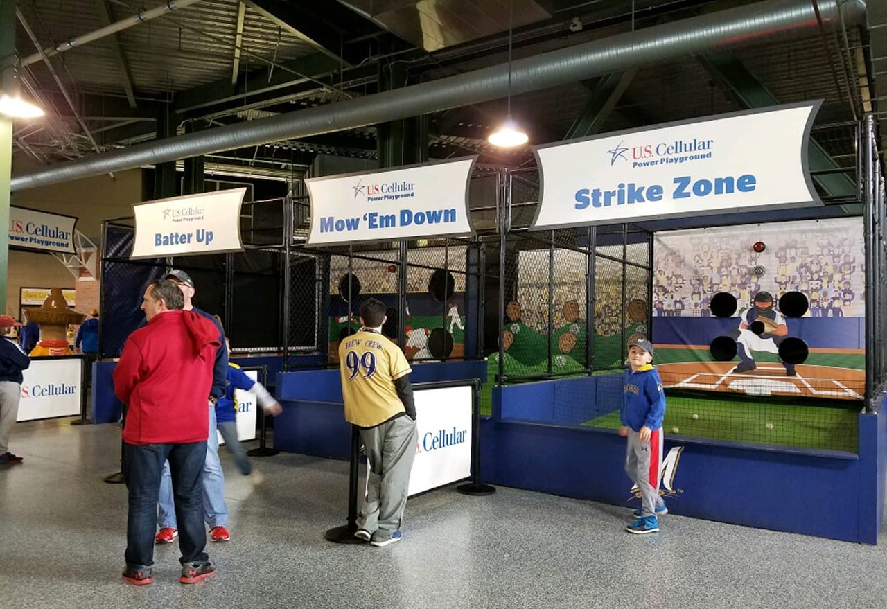 U.S. Cellular's Power Playground Engages Brewers Fans