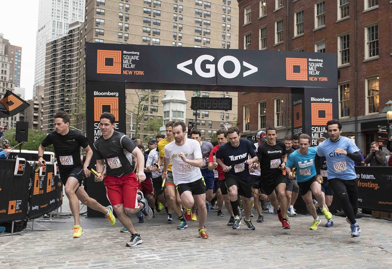 Lessons in team-building from the Bloomberg Square Mile Relay
