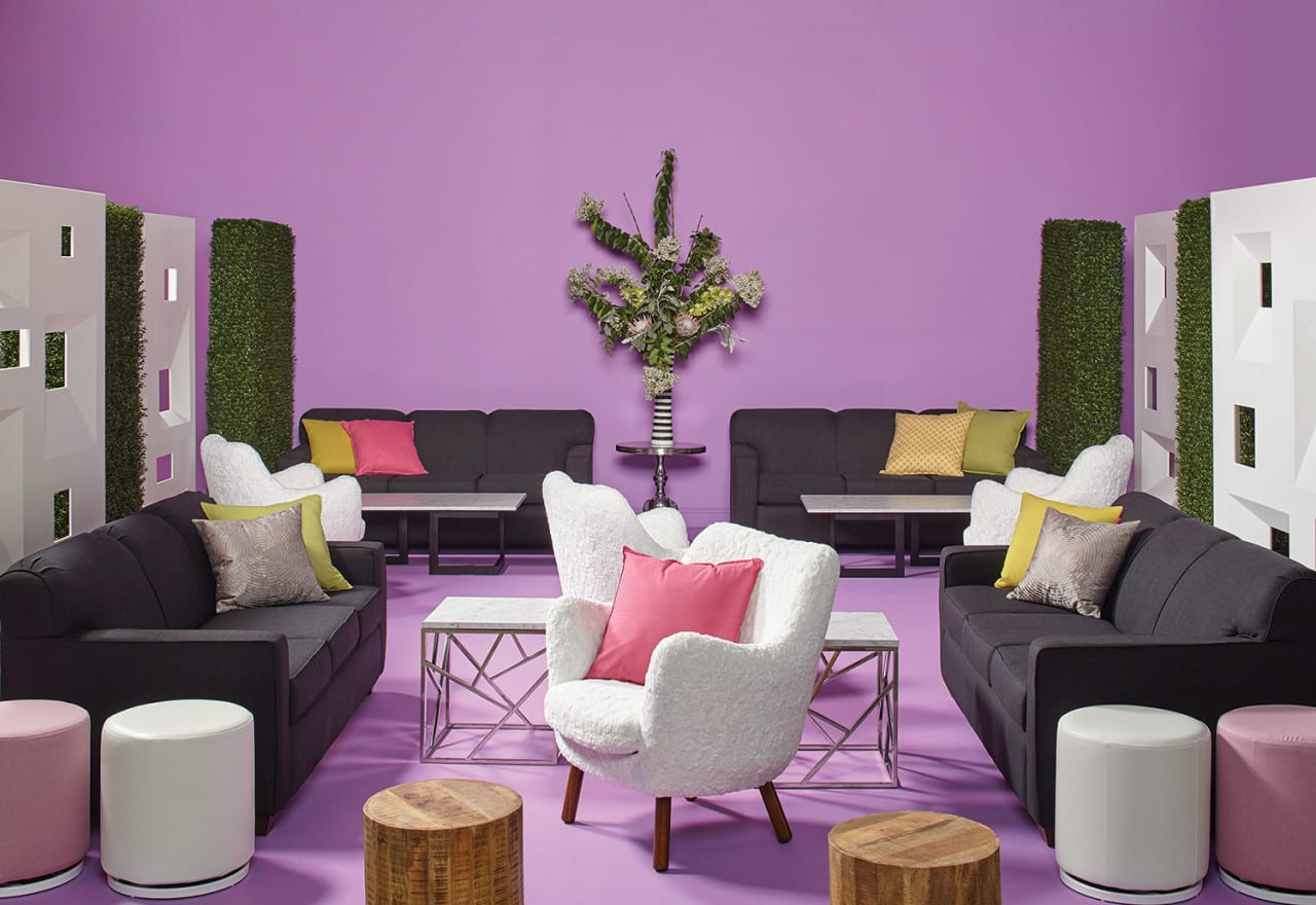 How Event Furniture Trends Help Brands Increase Dwell Time