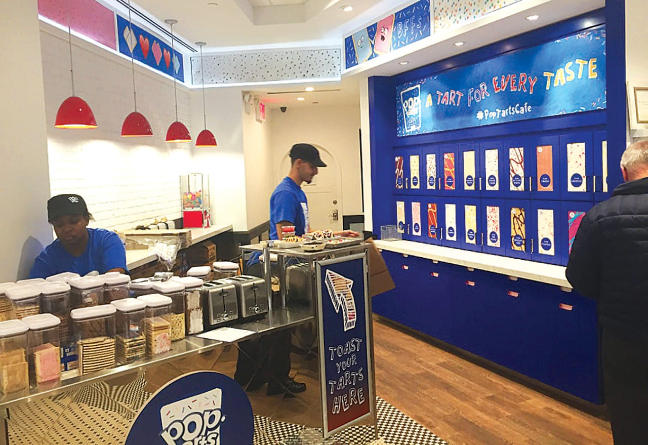 Pop-Tarts' Pop-up café Offers Quirky Concoctions