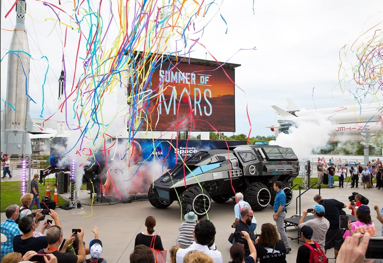 Summer of Mars Experience Tour Targets the Next Generation of Space Explorers