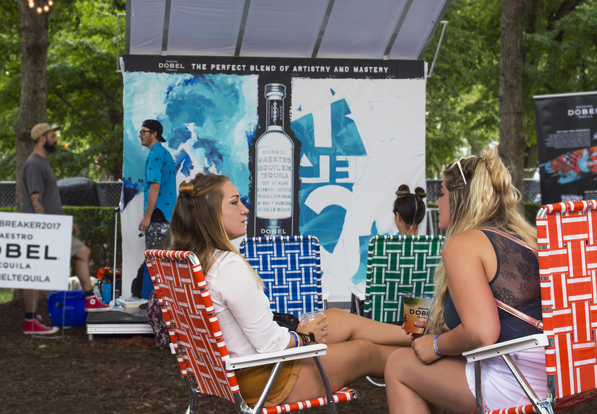 Maestro Dobel Tequila's Live Artists at Lollapalooza Create the 'Perfect Blend'