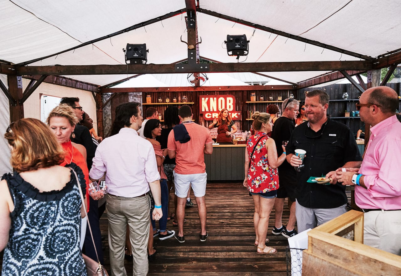 Knob Creek's Whiskey and Eggs Experience Hits Upscale Culinary Festivals