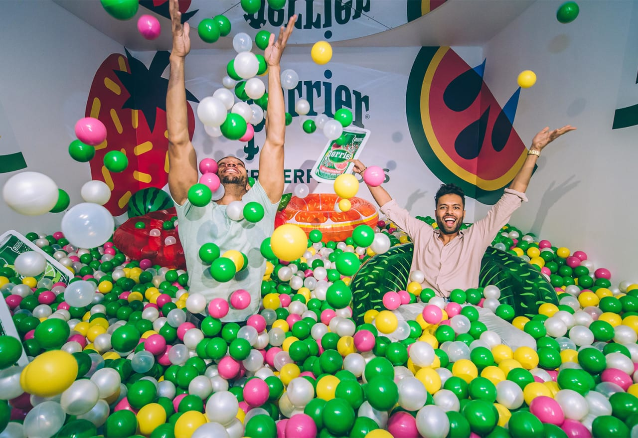 Three Lessons in Launch Events from Perrier's Flavorful Pop-Up