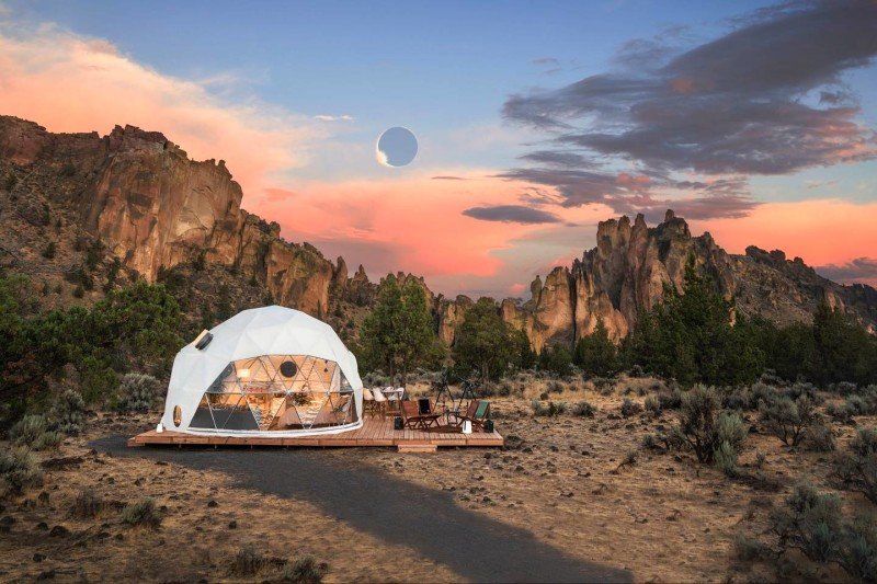 Airbnb Total Solar Eclipse