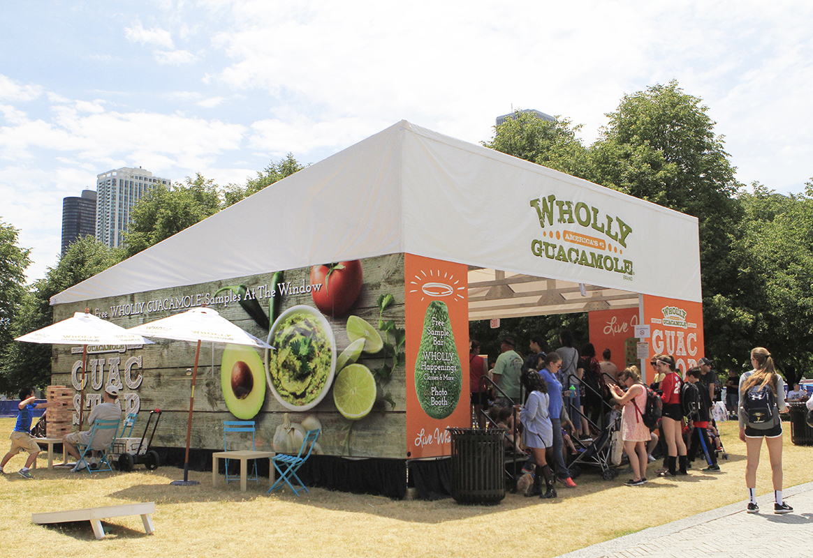 Wholly Guacamole Sampling Tour Dips into a Fresh Target