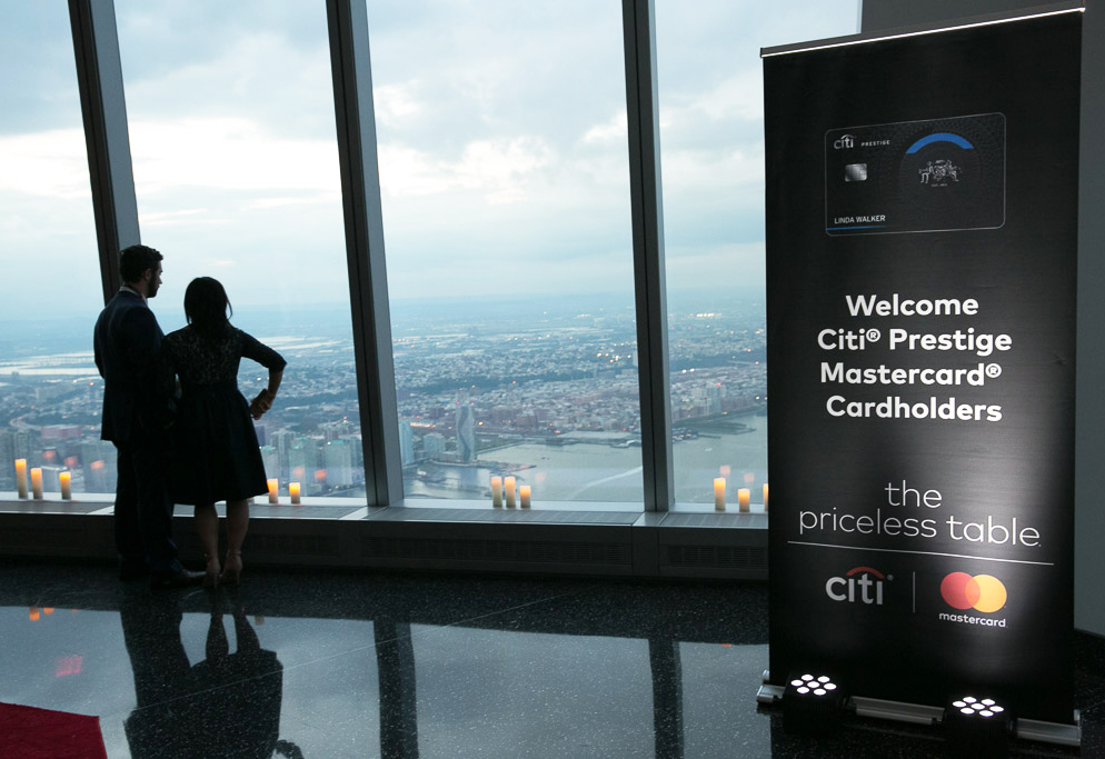 Citi Promotes its Prestige Card With a Curated Dining Event