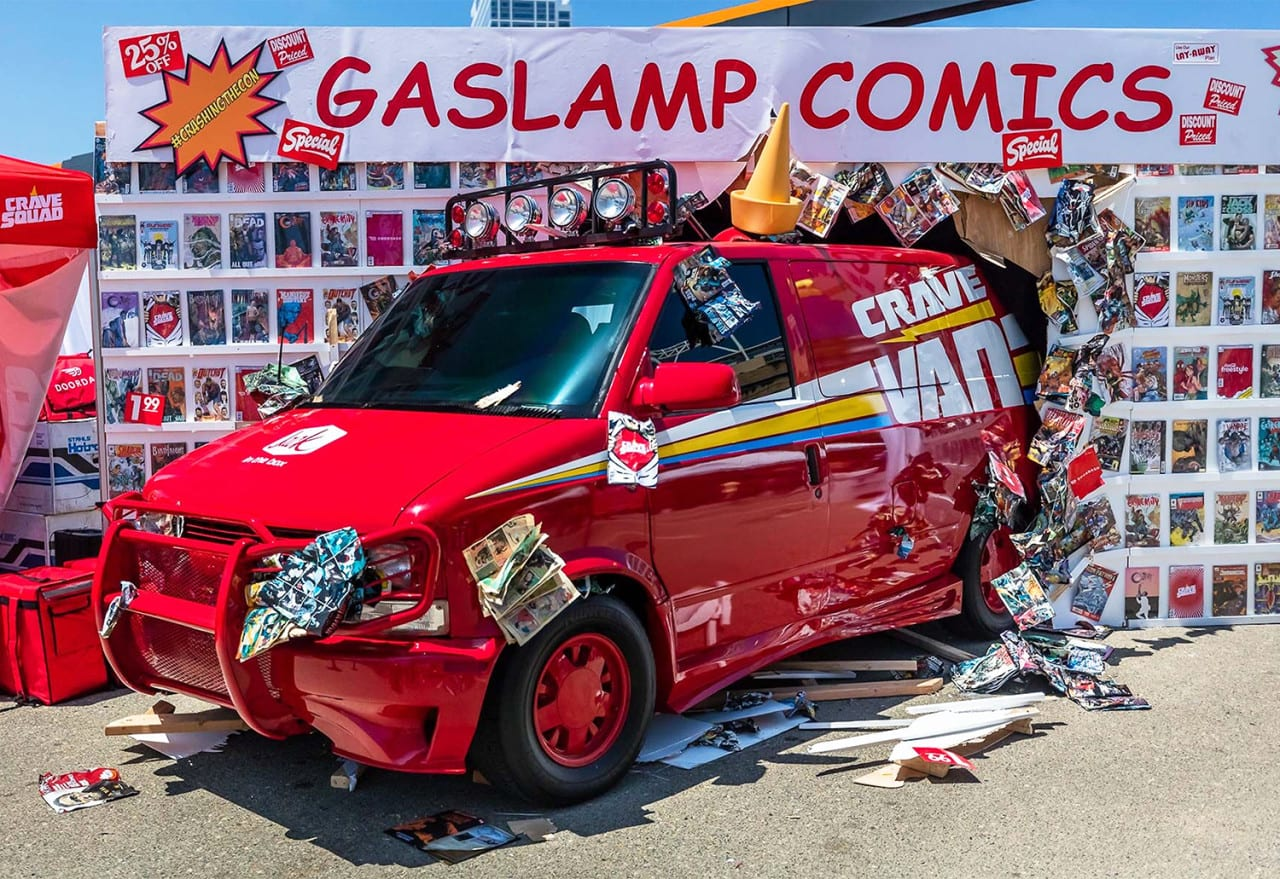 Jack in the Box's Crave Van Takes Sampling Up a Notch at San Diego Comic-Con