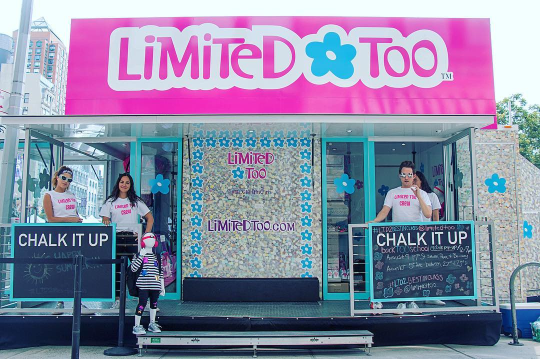 Limited Too Returns to Retail with a Back-to-School Mobile Pop-Up Shop