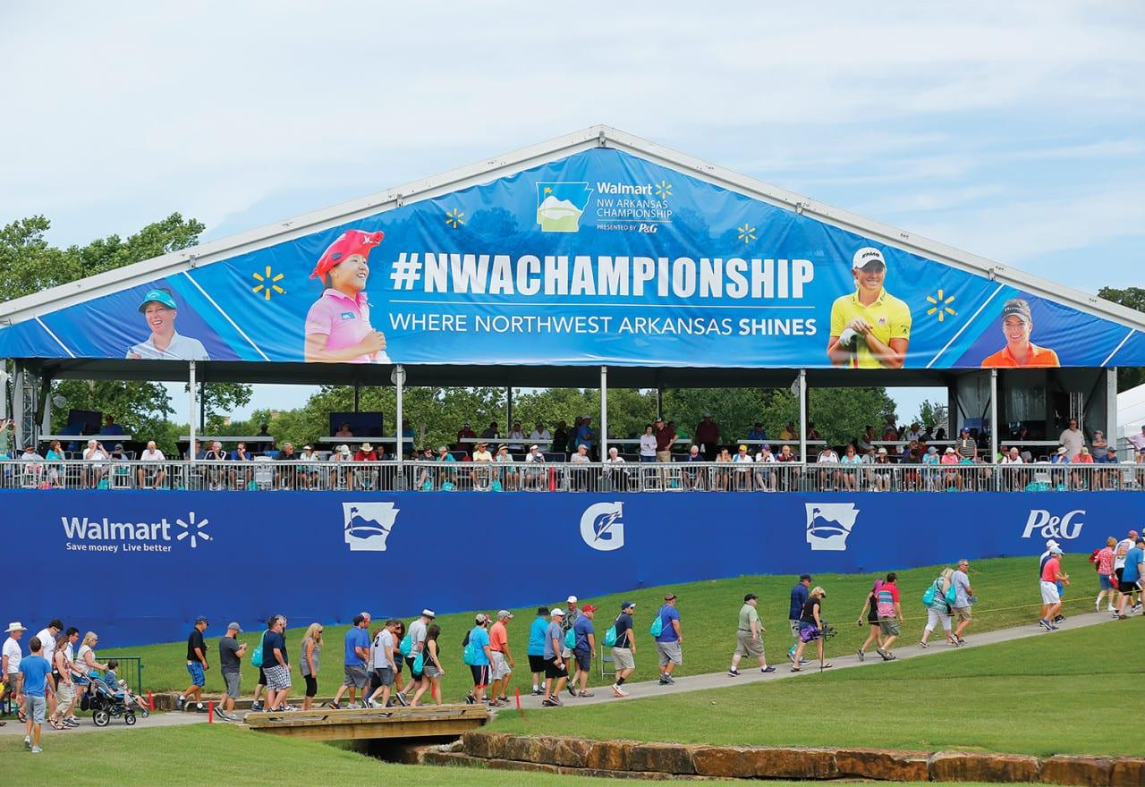 Sponsorship: Inside Walmart's NW Arkansas Championship