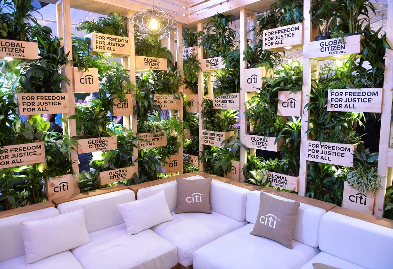 Advocacy-Driven Events and an Eco-Chic Lounge Mark Citi's Global Citizen Festival Sponsorship