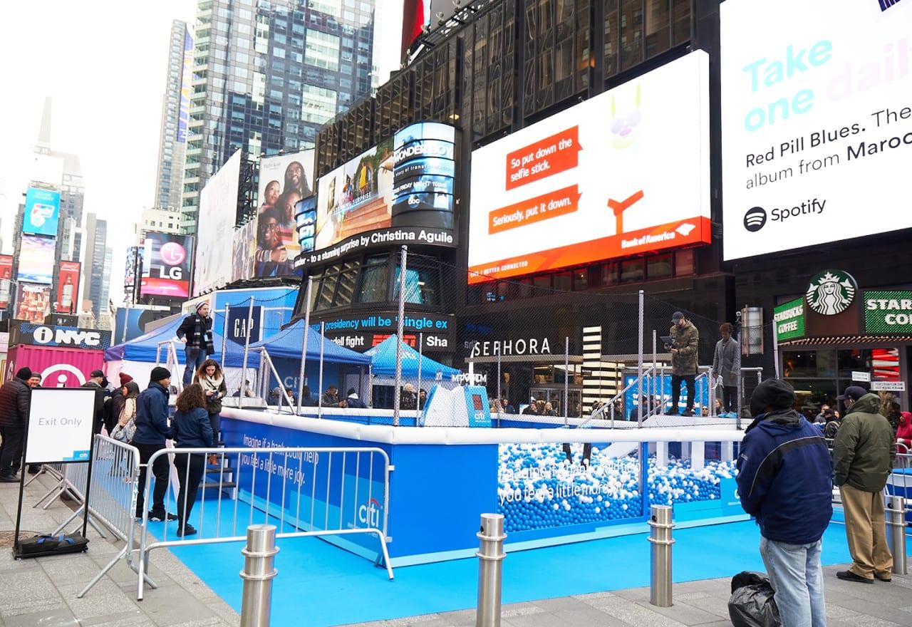 Citi's 'JOYTM' Dispenses Surprise and Delight in New York City