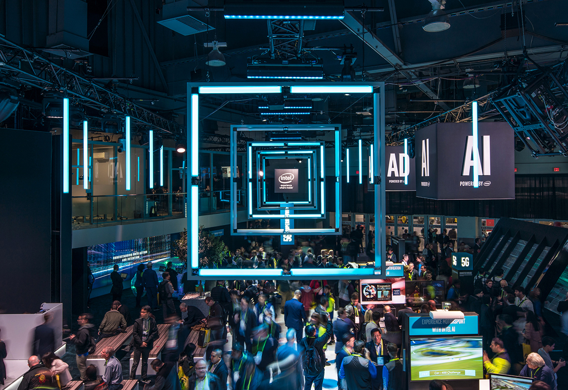 CES 2018: Intel's 'Super Highway' Exhibit and Social Media Strategy Hit High Notes