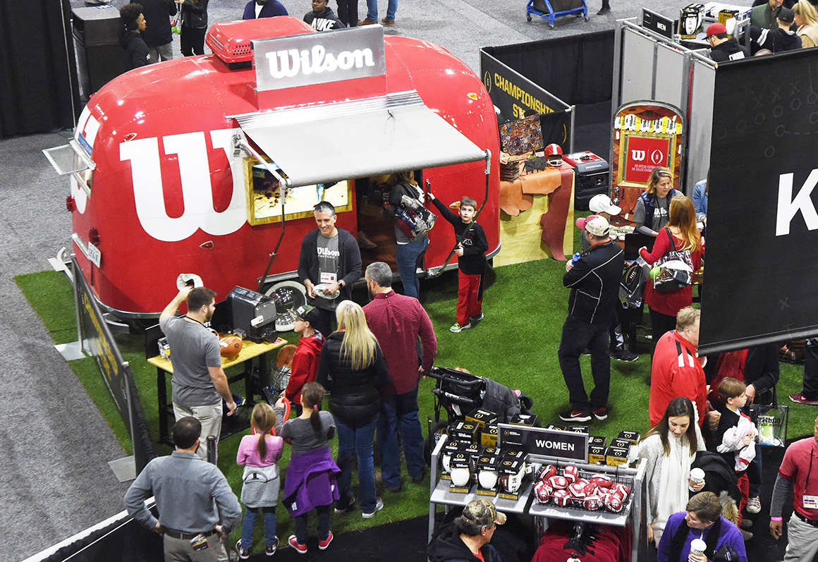 Wilson's Mobile Museum Offers Consumers an Intimate Look Inside the Football
