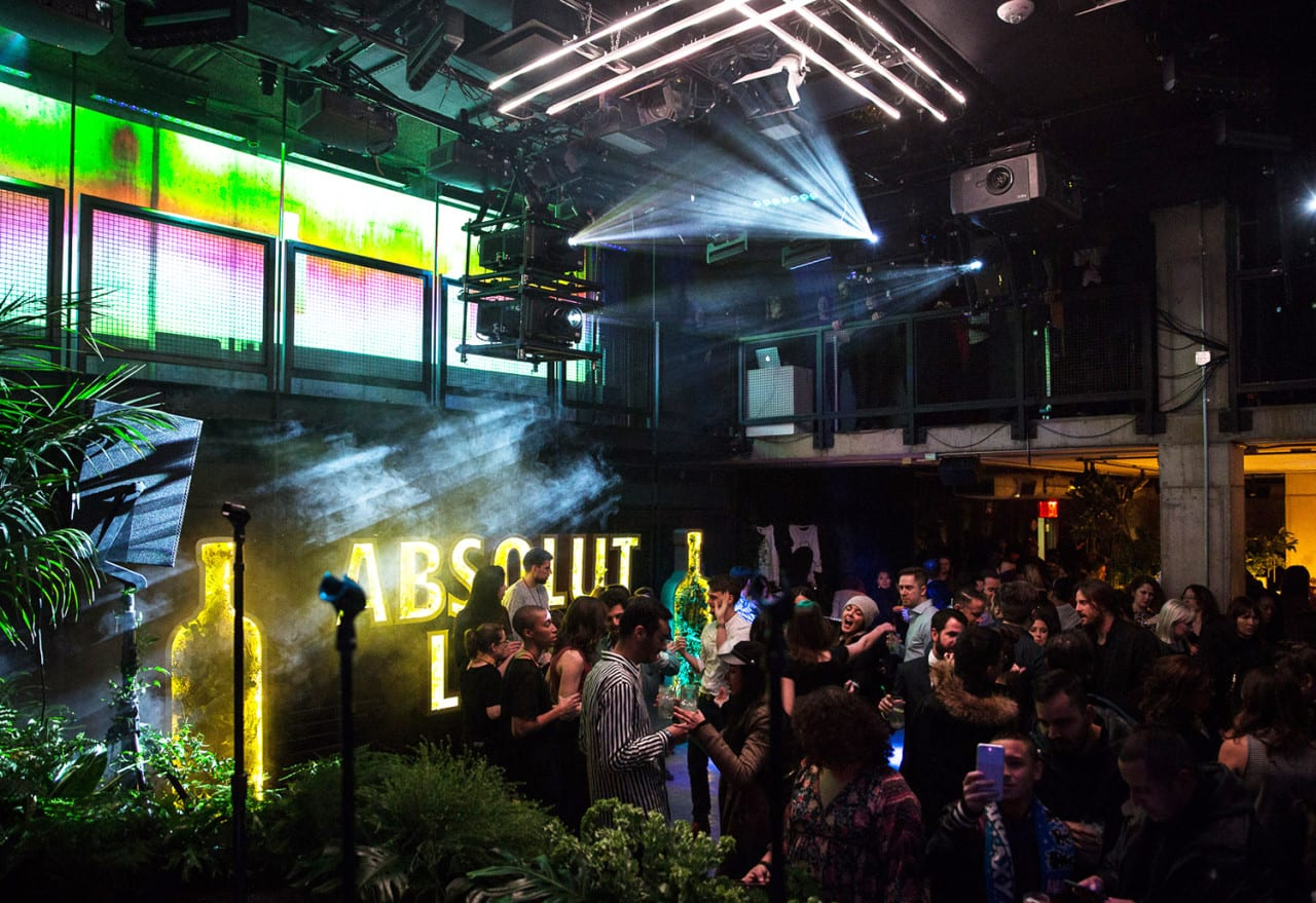 Experience Design: Absolut Creates a Lime-Inspired Oasis Before the Grammys
