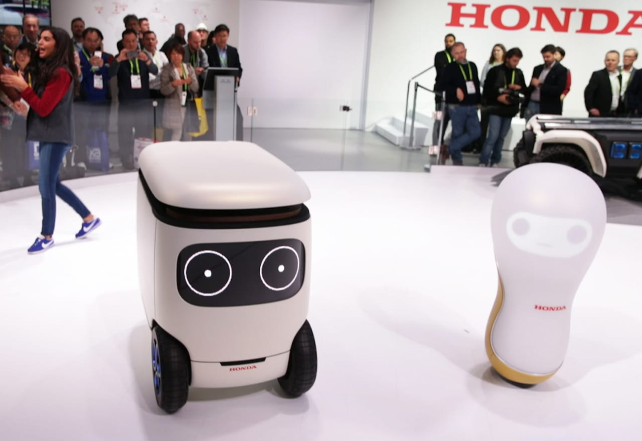 CES 2018: How Honda Demonstrated the Softer Side of Robots