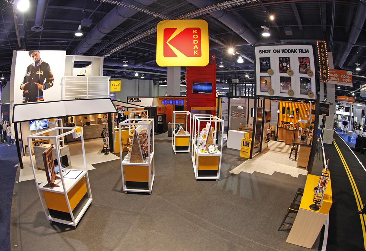 Kodak 'Downtown' Exhibit Helps Organize Brand Offerings