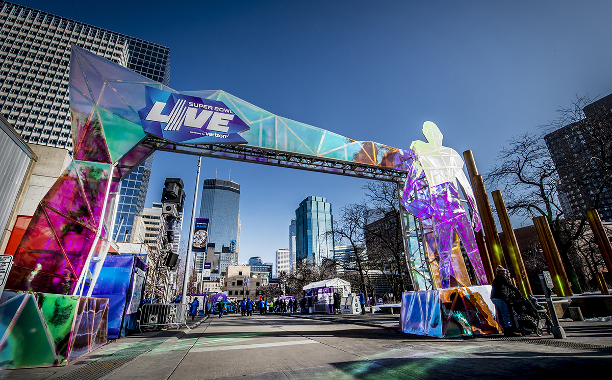 Super Bowl LII: Experiential Marketing from Minneapolis