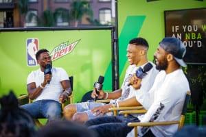 Mtn Dew Kickstart Gives Fans Courtside Access at NBA All-Star Weekend