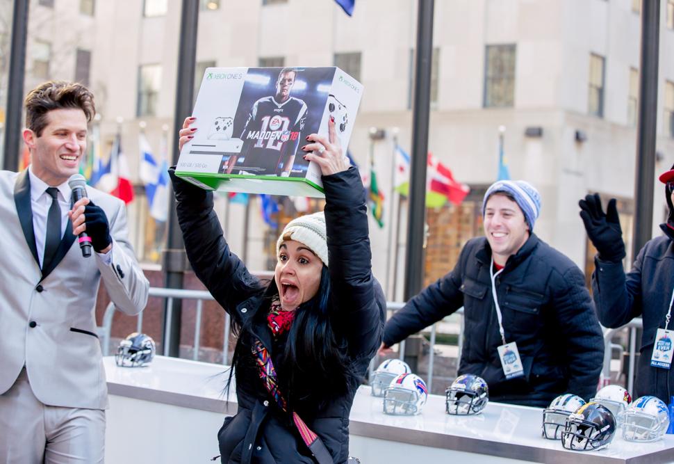 Best Feb Ever: NBC's Mystery Boxes Deliver Fan Surprises